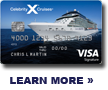 Learn more about the Celebrity X Cruises credit card