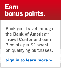 Bank Of America Travel Card Book Using Points